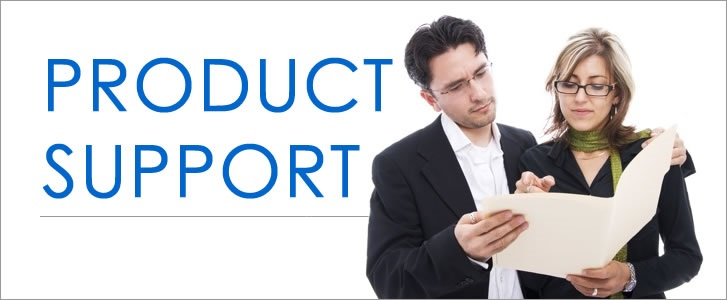 Product Support Banner - FAQs